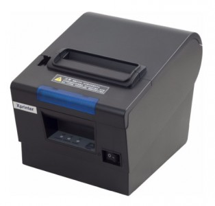 Чековый термопринтер 57/80мм со звонком и световой индикацией Xprinter XP-D610L (USB+LAN+RS232)